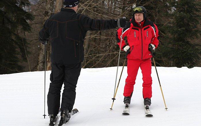 بوتين لا يستبعد التزلج على اللوح بدلا من الزلاجات