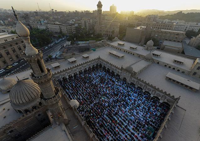 جامع الأزهر في القاهرة