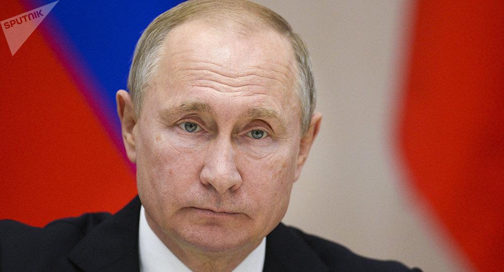الرئيس الروسي فلاديمير بوتين في لقاء سوتشي، روسيا 14 فبراير/ شباط 2019