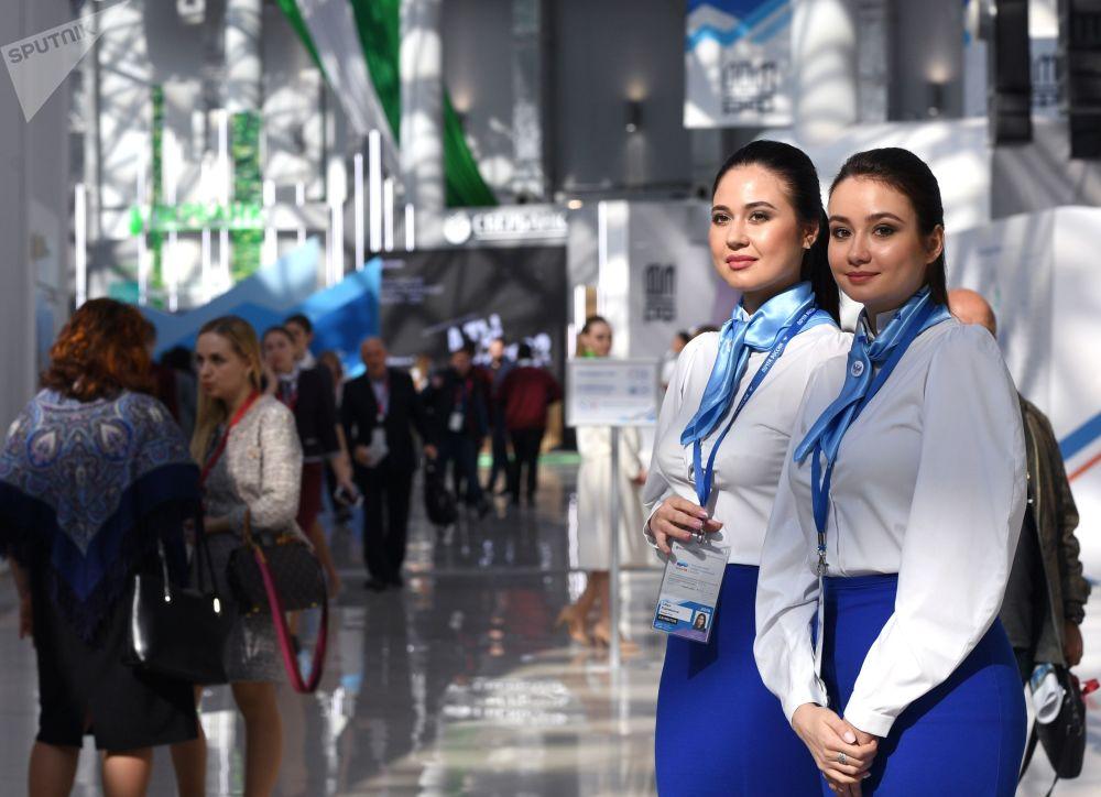المشاركات في المنتدى الاستثماري الروسي في مدينة سوتشي الروسية