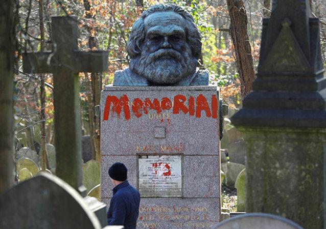 مقبرة كارل ماركس في لندن