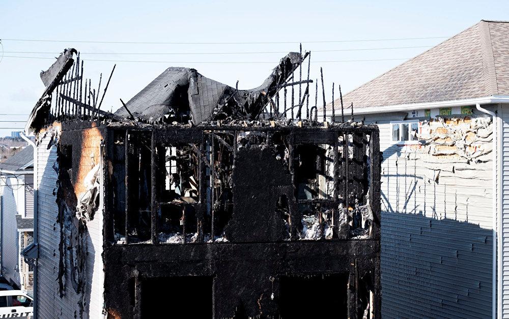 مقتل سبعة أطفال لأسرة سورية جراء حريق شب في منزلهم بمدينة هاليفاكس الكندية
