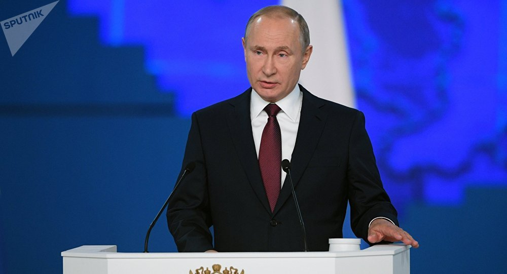 الرسالة السنوية للرئيس فلاديمير بوتين إلى الجمعية الفيدرالية، 20 فبراير/ شباط 2019