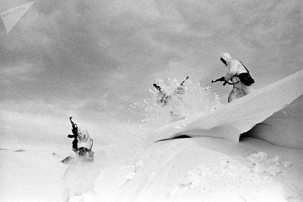 مناورات عسكرية دفينا، الاتحاد السوفيتي عام 1970