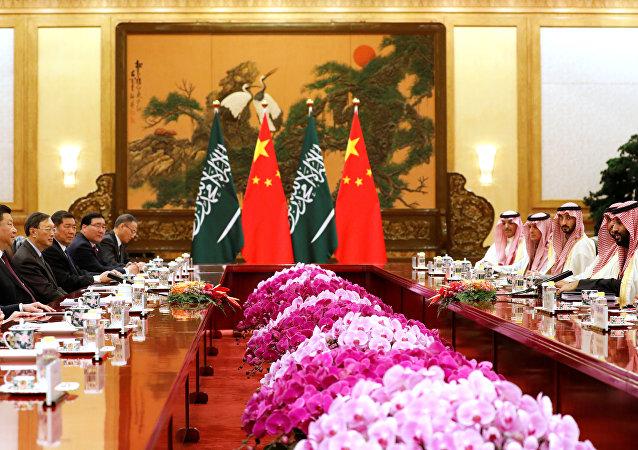 ولي العهد السعودي الأمير محمد بن سلمان في الصين