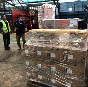 مساعدات إنسانية إلى فنزويلا