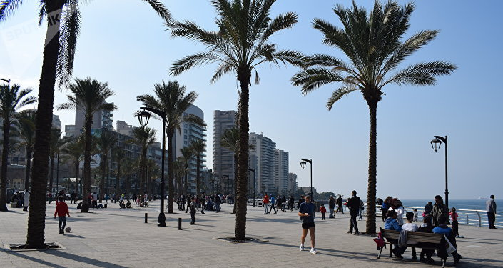 مناظر عامة للمدن العربية - مدينة بيروت، لبنان فبراير/ شباط 2019