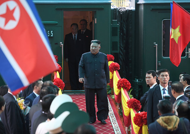 قطار زعيم كوريا الشمالية
