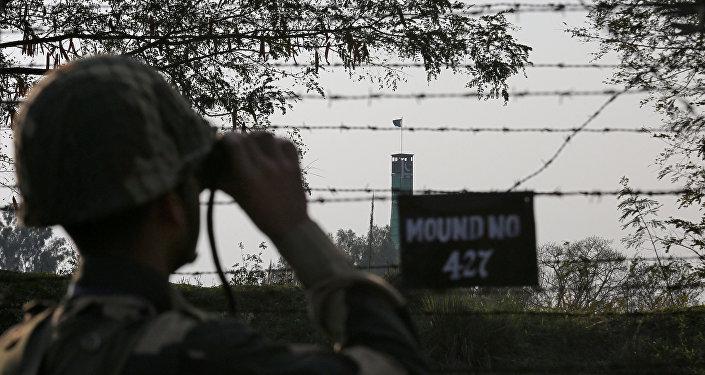 الحدود الهندية الباكستانية