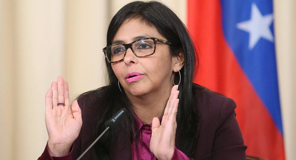 نائب الرئيس الفنزويلي ديلسي رودريغيز
