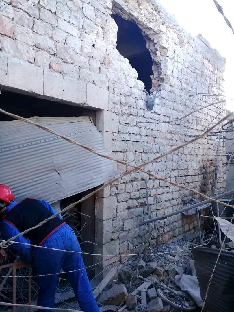 دمار كبير جراء قصف عنيف لتنظيم القاعدة على محردة وسط سوريا