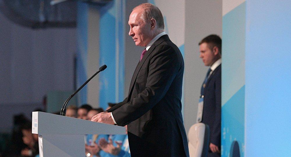 بوتين يفتتح دورة الألعاب الشتوية العالمية للجامعات في مدينة كراسنويارسك