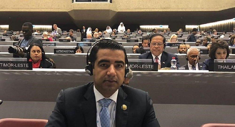 عضو لجنة الشؤون العربية والخارجية في مجلس الشعب السوري ونائب رئيس جمعية الأخوة السورية اللبنانية آلان بكر