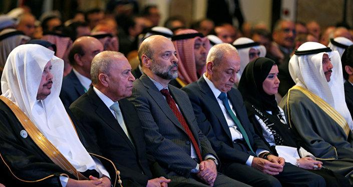 رئيس الوزراء الأردني عمر الرزاز يحضر المؤتمر التاسع والعشرين للاتحاد البرلماني العربي في عمان