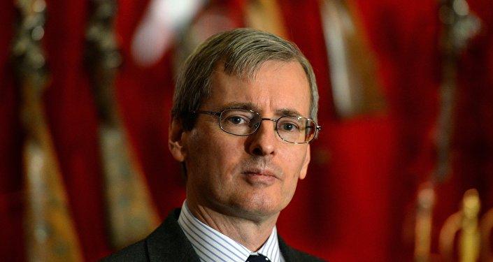 السفير البريطاني في روسيا، لوري بريستو