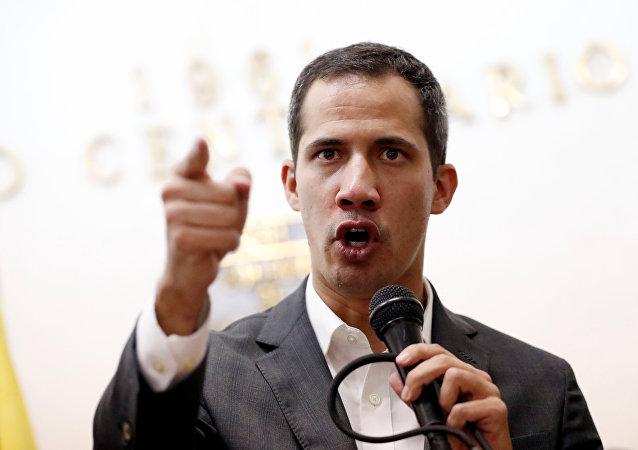 زعيم المعارضة في فنزويلا، خوان غوايدو