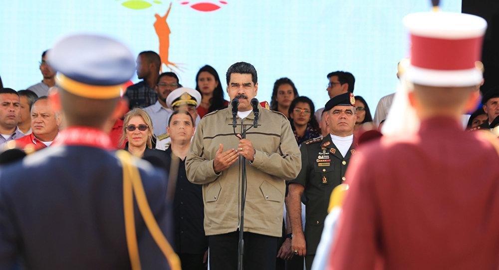 الرئيس الفنزويلي نيكولاس مادورو في الذكرى السادسة لرحيل سلفه هوغو تسافيز