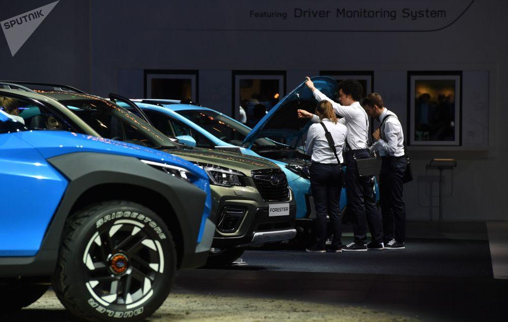 معرض جنيف الدولي للسيارات لعام 2019 - جناح شركة Subaru
