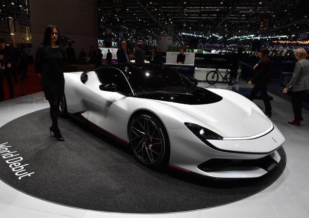 معرض جنيف الدولي للسيارات لعام 2019 - عرض سيارة Pininfarina Battista