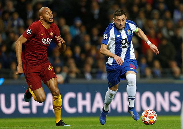 مباراة روما و بورتو في دوري أبطال أوروبا