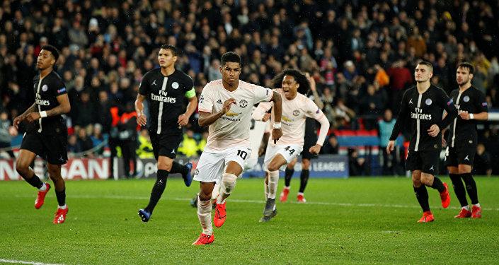 مباراة باريس سان جيرمان و مانشستر يونايتد