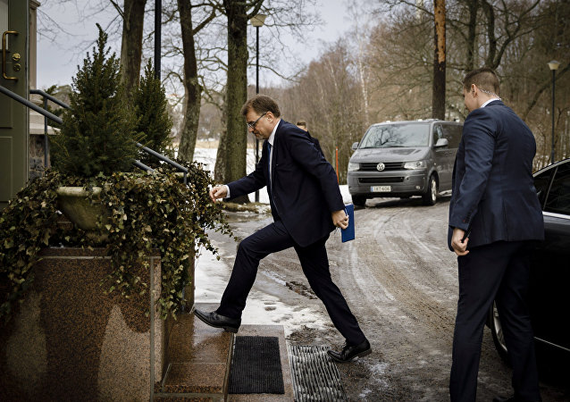 يوها سيبيلا رئيس حكومة فنلندا