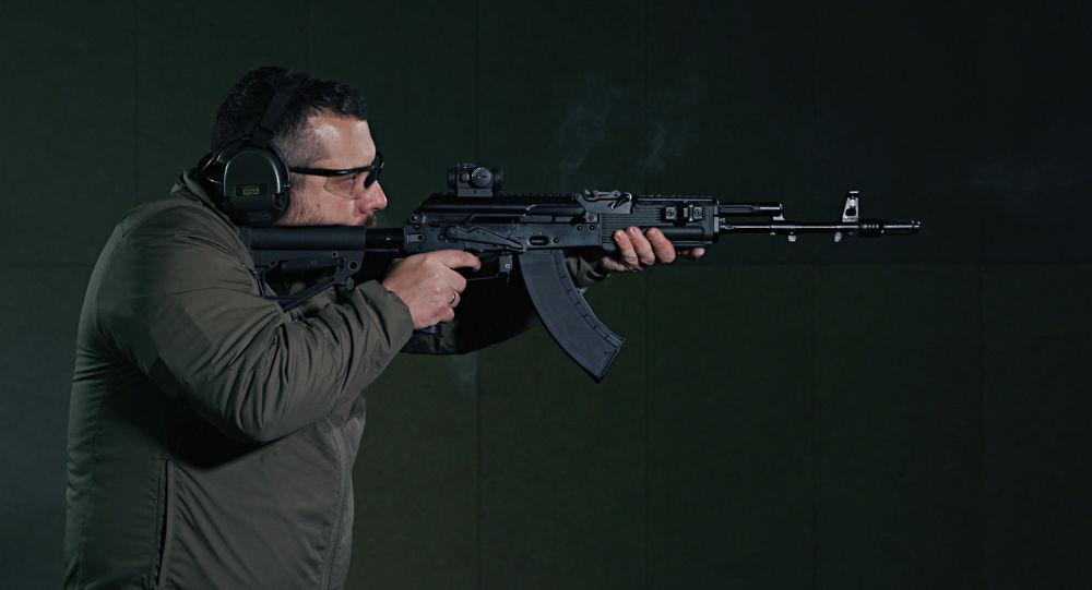 رشاش كلاشنيكوف-23 (أ كا-203)