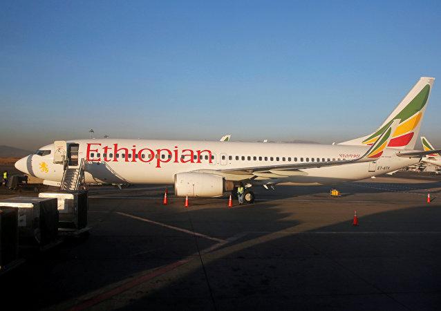 طائرة إثيوبية