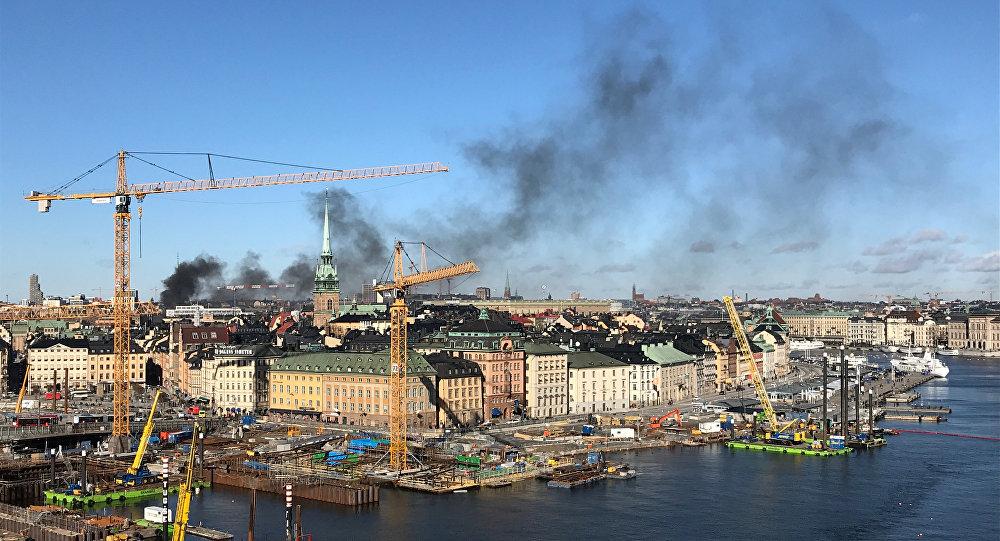 حادثة انفجار باص في ستوكهولم