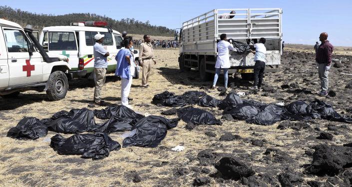 تحطم طائرة بوينغ Ethiopian Airlines  في إثيوبيا، 10 مارس/ آذار 2019