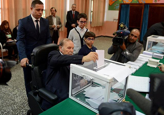 الرئيس الجزائري عبد العزيز بوتفليفة