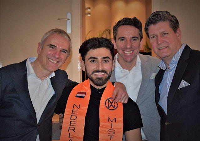 عراقي وسيم ينافس على لقب سيد العالم