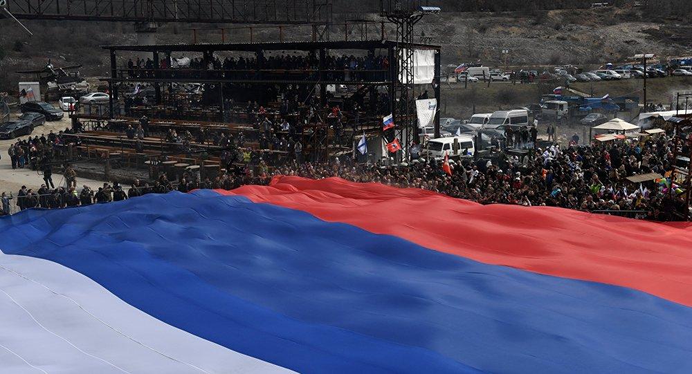 روسيا تحتفل بالذكرى الخامسة لانضمام شبه جزيرة القرم