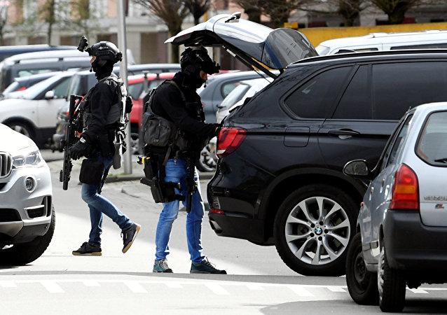 الشرطة بعد إطلاق نار في أوتريخت
