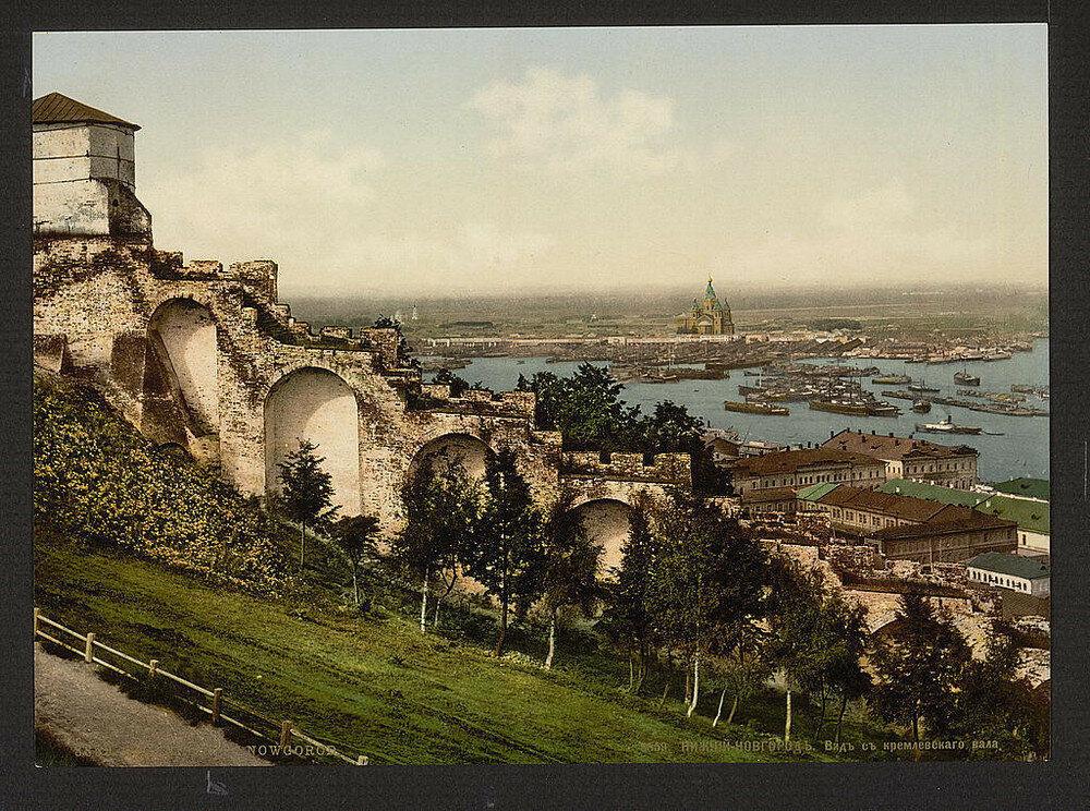 مشهد يطل على مدينة نيجني نوفغورود