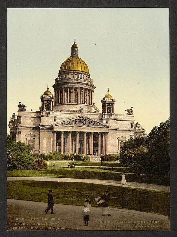 كاتدرائية القديس إسحاق في مدينة سان بطرسبورغ