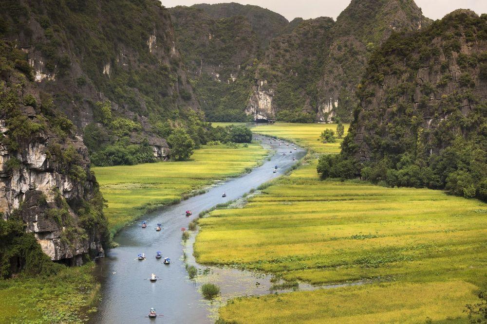 نهر نغو دونغ في فيتنام