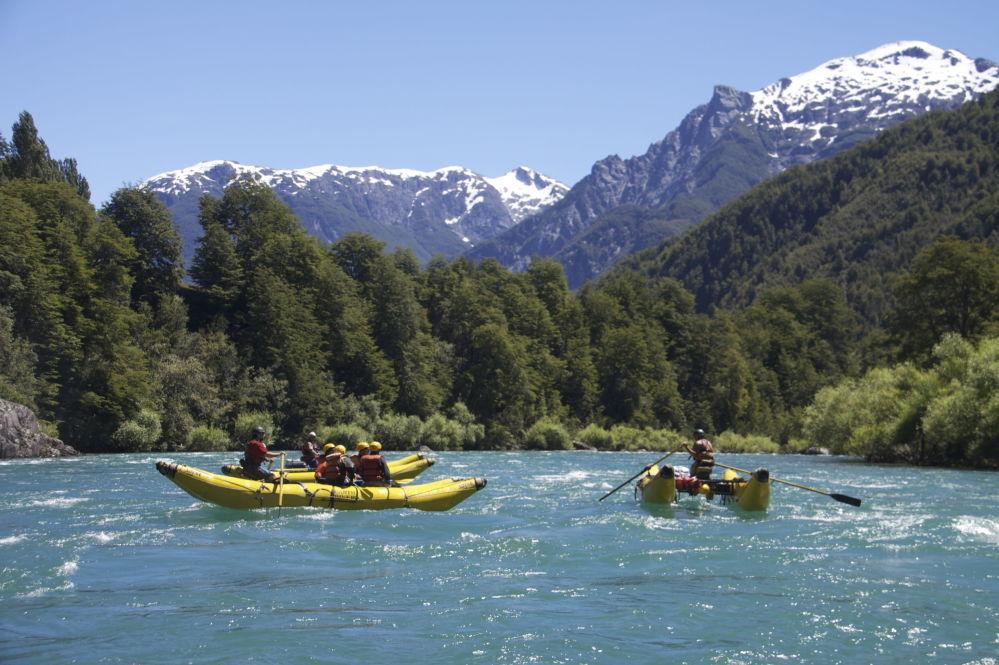 نهر فيوتاليوفيو  في تشيلي