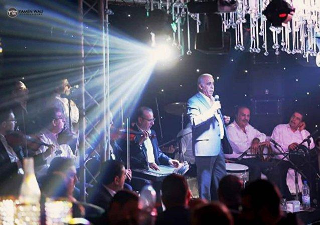 إحدى حفلات الفنان سمير جركس والفرقة الموسيقية