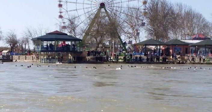 غرق عبارة في العراق