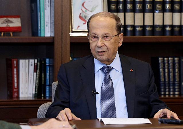 الرئيس اللبناني لـ سبوتنيك: لبنان وقع ضمن الحصار المفروض على الآخرين وعلى إيران