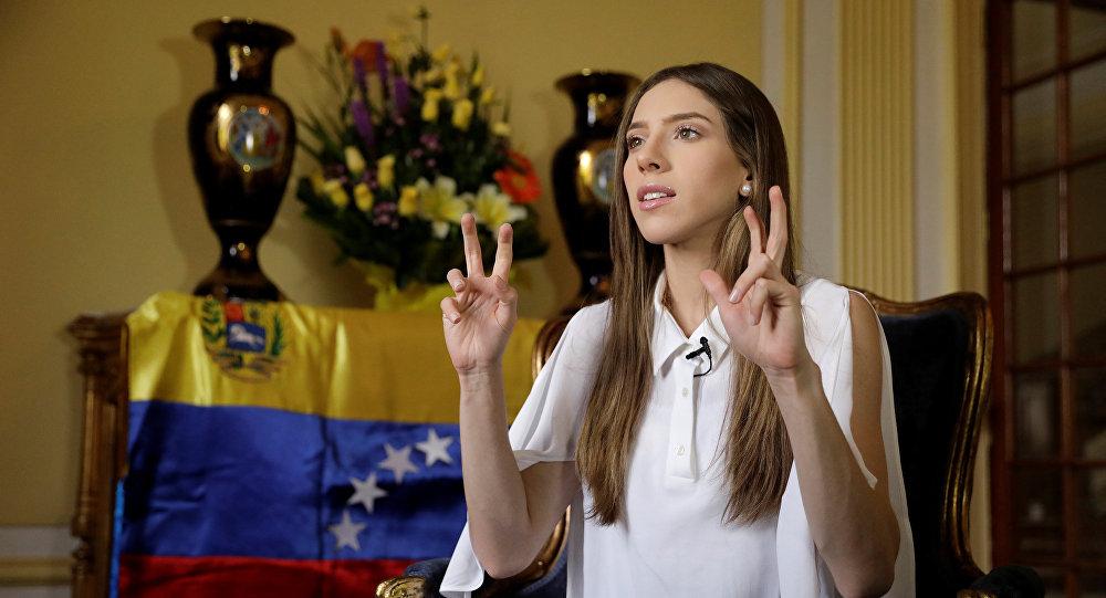 فابيانا روزاليس، زوجة زعيم المعارضة الفنزويلية، خوان غوايدو