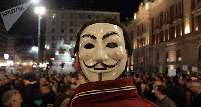 مظاهرات في صربيا
