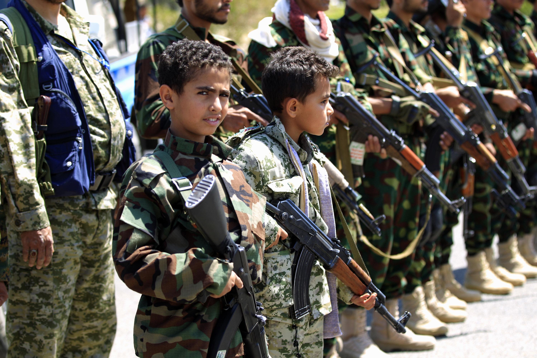 تجنيد الأطفال في اليمن