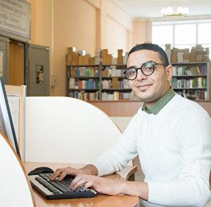 أسامة الزبيدي، طالب من اليمن في جامعة جنوب الأورال
