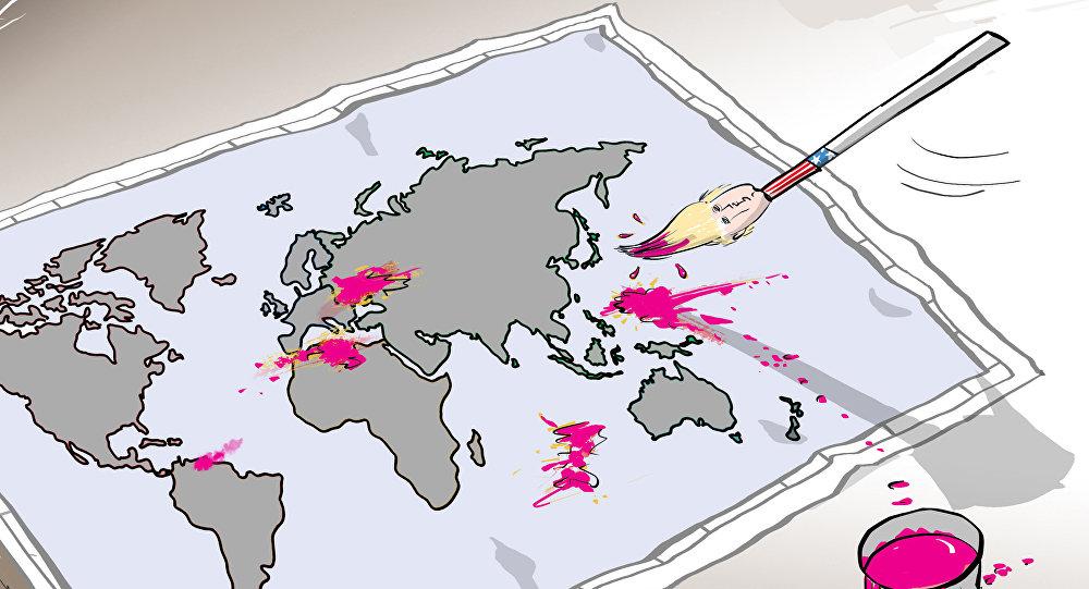 """سياسة الغرب لـ""""تلوين العالم"""""""