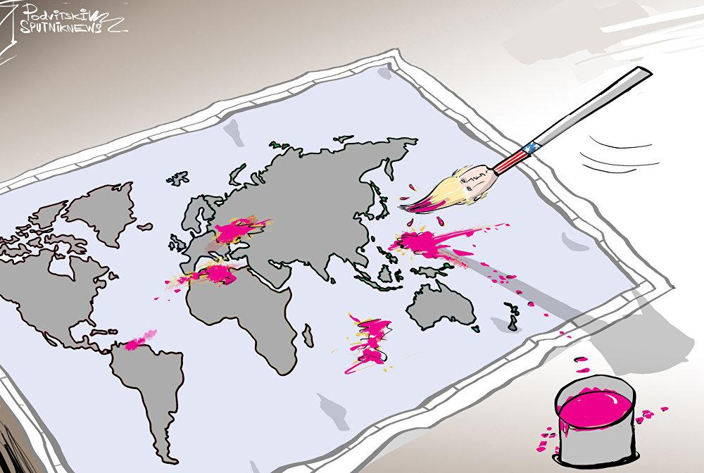 الغرب يهدد أمن العالم بأسره
