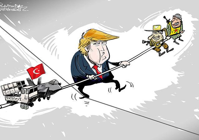 ترامب يلعب على الحبلين!