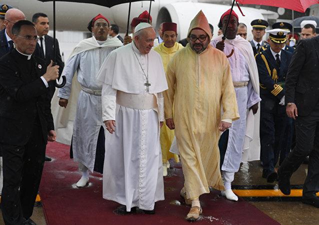زيارة البابا فرانسيس للمغرب