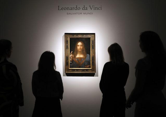 لوحة ليوناردو دا فينشي المخلص أو سلفاتور موندي